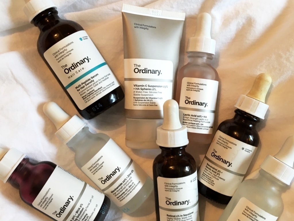 My Love Affair With The Ordinary Skin Shelfie